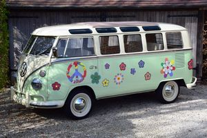 1965 VW T1  - Samba 21-windows with split Safari windshield.