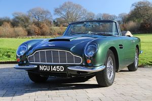 1966 Aston Martin Short-Chassis Volante  - 1 of 37 built