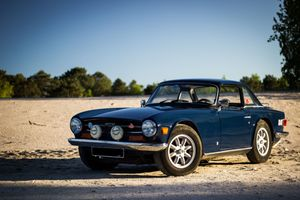 1972 Triumph TR6  - With Hard Top