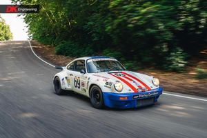 1974 Porsche 911 RSR  - 6th Place Overall at Le Mans 1975