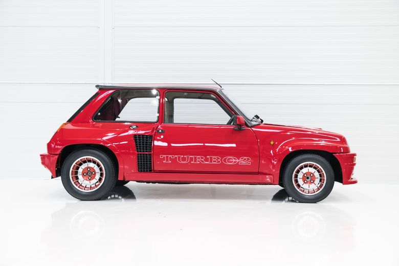 1983 renault r5 turbo voiture de collection vendre
