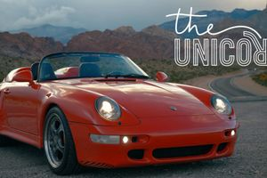 1995 Porsche 993 Speedster: Unicorn Conversion