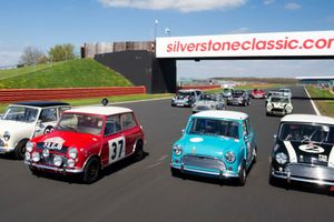 60 Minis For The Mini's 60th Birthday—Silverstone Classic Is Set For Another Record-Smashing Grid
