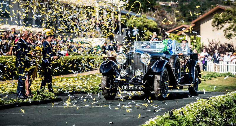 A birthday surprise for Bentley as it wins 'Best of Show' at Pebble Beach