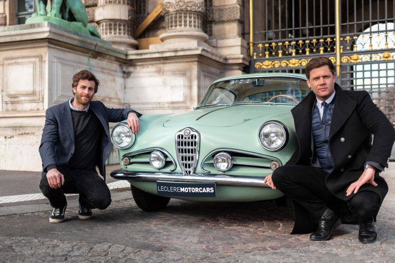 A drive through Paris with Leclere's next-generation auctioneers