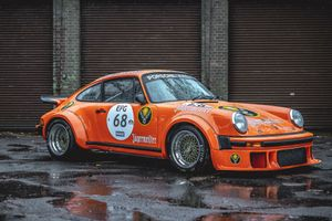 A Little Rainwater Didn't Stop The Air-Cooled Porsche Excellence At Luft GB