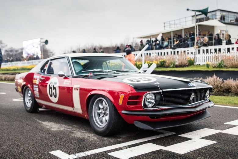 A Lost Boss 302 Mustang Is Reborn To Race In England After A 48-Year Break