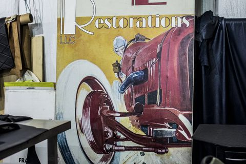 A rejuvenation cure for classic cars at Redline Automotive Restorations
