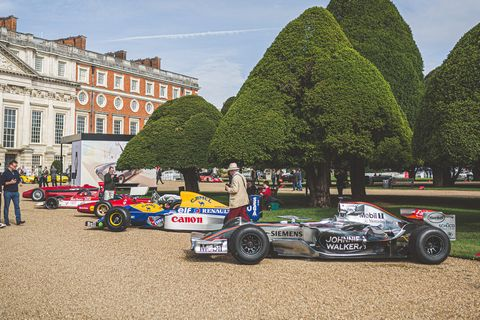 A right royal automotive reunion at this year's Concours of Elegance
