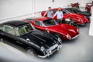 A sneak peek at the Fondazione Gino Macaluso's spectacular car collection
