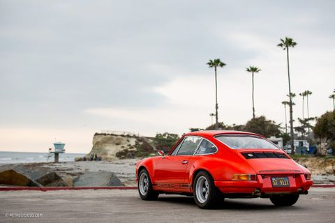 A Twin-Plug Porsche 911 ST Tribute Is The Proper Way To Recreate A Factory Hot Rod