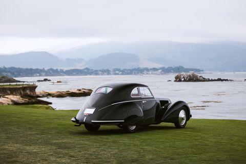 Alfa Romeo 8C 2.9 is 'Best of Show' at the Pebble Beach Concours 2018