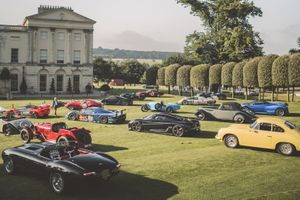 An audience with the world's most beautiful cars at Heveningham Hall