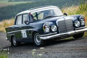 An Ex-AMG Test Car, This W112 Mercedes-Benz Is Now A Badass Rally Toy