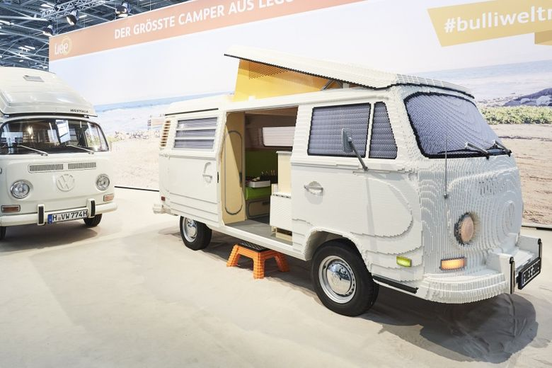 And Now We Have The World's Largest LEGO VW Camper…