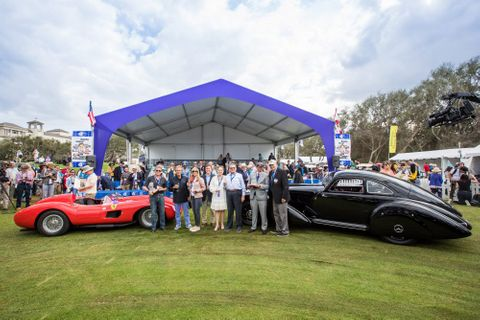 And The 2019 Amelia Island Concours Winners Are… A Ferrari And A Mercedes