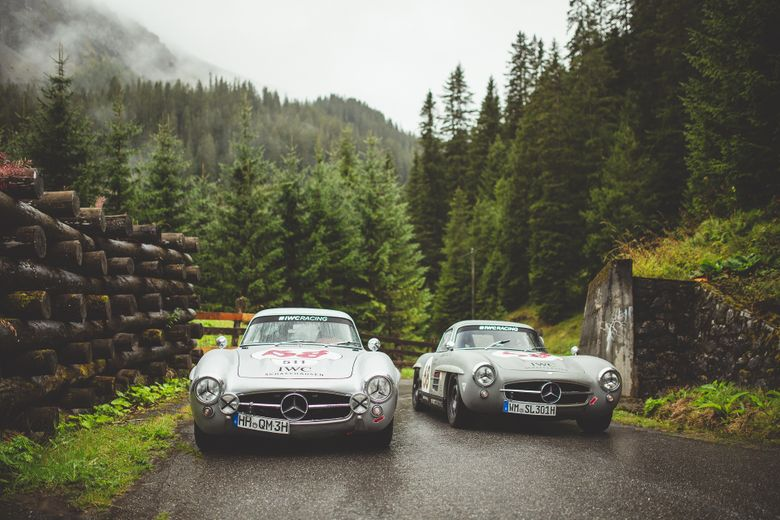Arosa Classic Car 2018 was an uphill battle against the rain