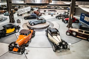 Art Deco dreams come true at the Mullin Automotive Museum