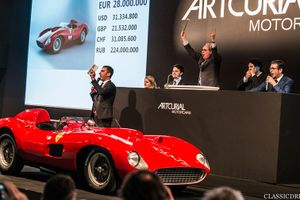 Artcurial just sold the ex-Works 1957 Ferrari 335 S Spider for 32m euros