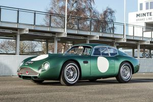 Aston Martin DB4GT Zagato '2 VEV' sells for £10million