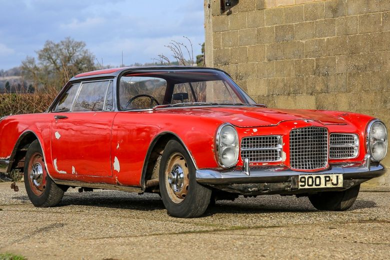 Barn Find Facel Vega II Has London Motor Show And Gangster History