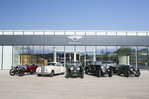 Bentley Boys Confirm Special Centenary Events In USA, UK And Europe