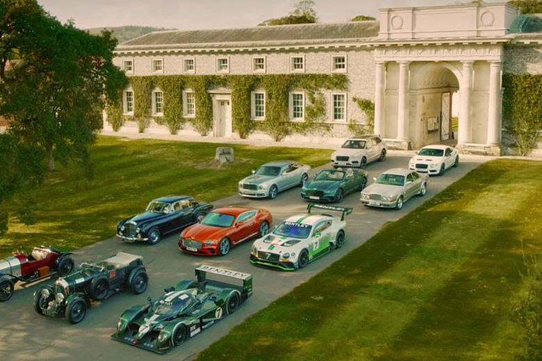 Bentley Centenary to Be Marked at Goodwood Festival Of Speed With Cars Young And Old On The Hill!