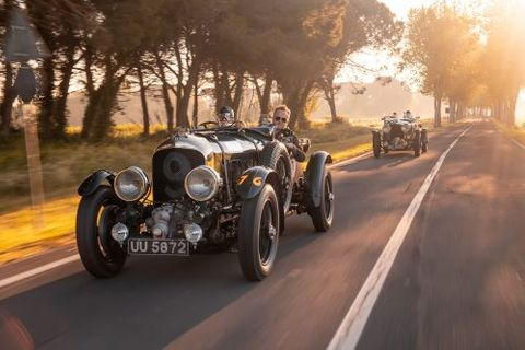 Bentley Plans To Produce 12 Continuation Models of The Famous Pre-War 4½ Litre Team Blower Model
