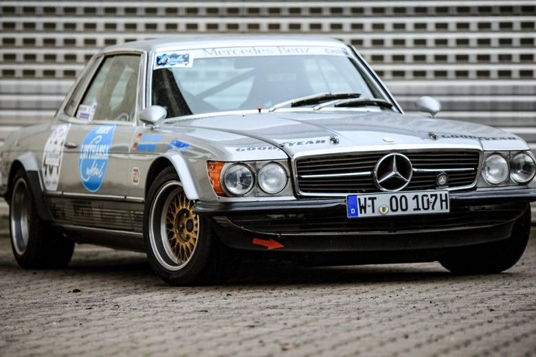 Big Bad Benz: This 500SLC Is A Historic Hillclimber Rife With Period-Correct Parts