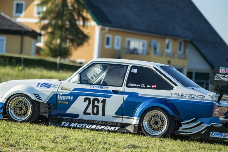 Blink And You'll Miss It: This Mk2 Ford Escort Is One Hell-Raising Hill Climber