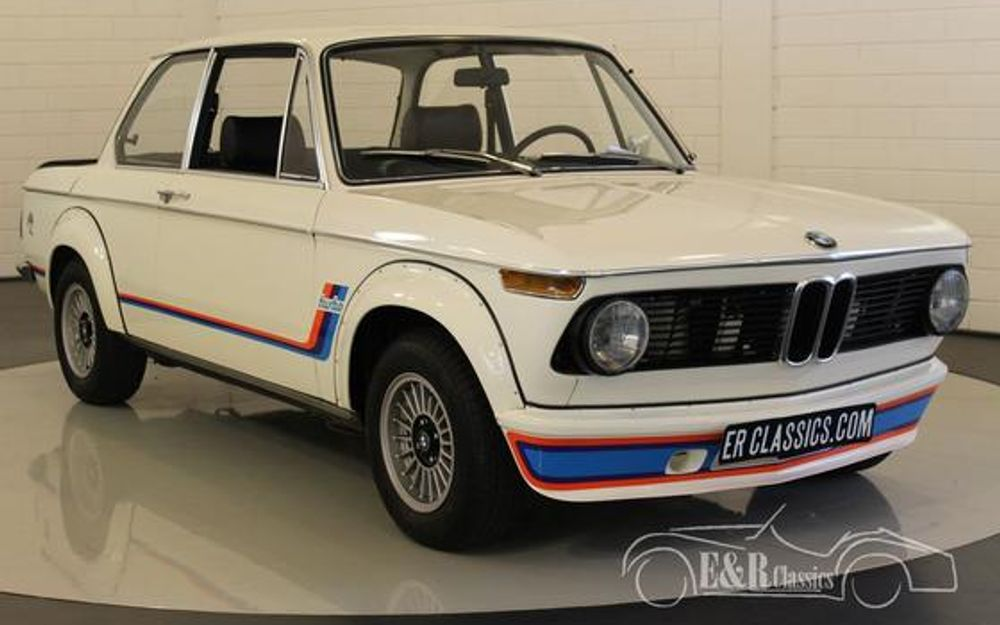 bmw 2002 turbo look 1974 matching numbers voiture de collection vendre