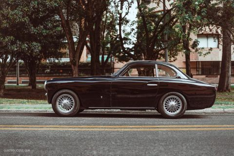 Bodied By Bertone, Powered By Britain, And Thought Up By An American, This Rare Arnolt-MG Now Lives In Colombia