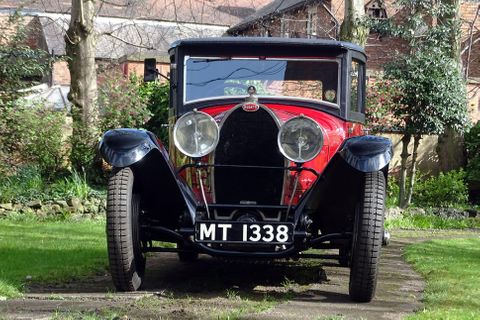 Bugatti Type 44 with WW2-surviving Vanvooren body offered at auction