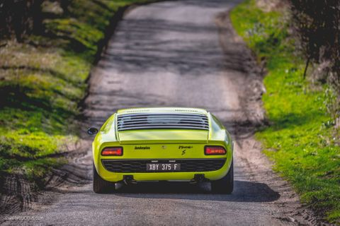 Bull In The Cotswolds: A 1968 Lamborghini Miura S And Some Of Britain's Best B-Roads