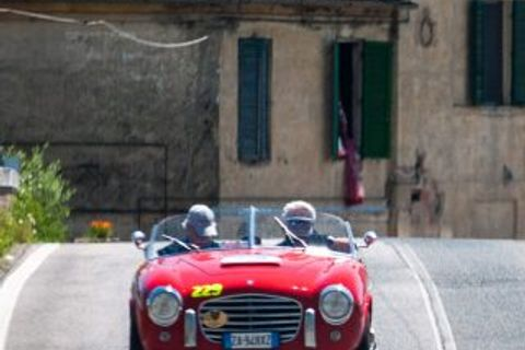 Celebrate The Italian Job's 50th Anniversary Behind The Wheel Of A Classic Mini In Tuscany