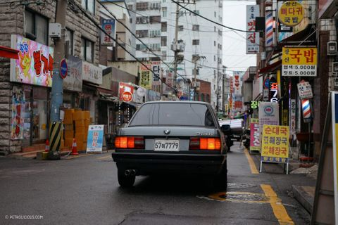 Chasing Simple, Pure Design In South Korea With A Four-Door BMW