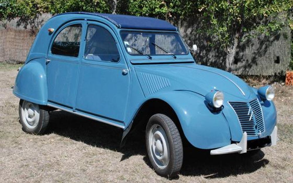 citro n 2 cv 1959 voiture de collection vendre. Black Bedroom Furniture Sets. Home Design Ideas