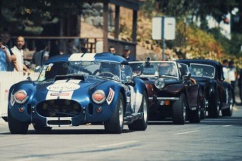 Classic Ferraris, Hill Climb Specials, And More Mix In The Mountains Of Portugal