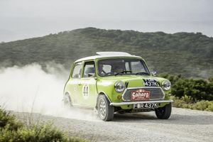 Classic Mini to take on 8500-mile Peking to Paris Rally