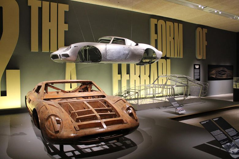 Design museum celebrates Ferrari 70th