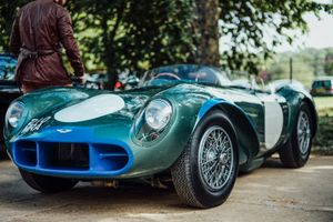 Driving Aston Martin DB3S/10 Through The English Countryside
