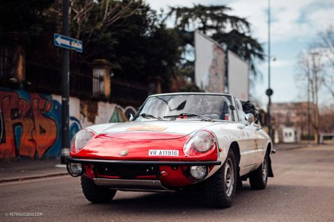 Drop-Top Italian Tank, Or 1975 Alfa Romeo Spider?