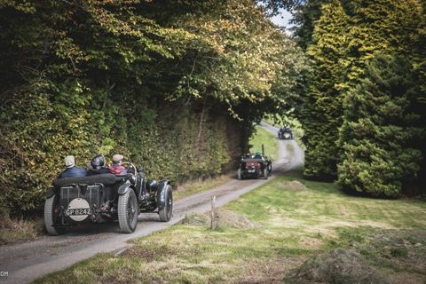 Enjoy The Views From A Day Spent Chasing Behemoth Bentleys On A Welsh Rally