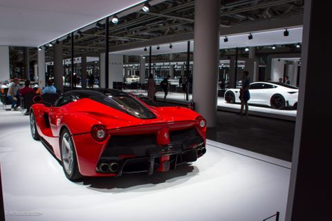 Enzo's Personal Ferrari And More Assembled In Switzerland For A New Kind Of Car Show