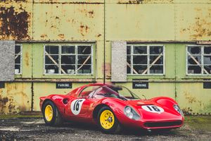 Even Lord March loves this tool-room copy of a Ferrari Dino 206 SP