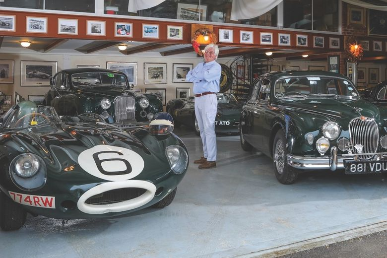 Exhibits From This Private Mike Hawthorn Museum Will Be Shown At Race Retro
