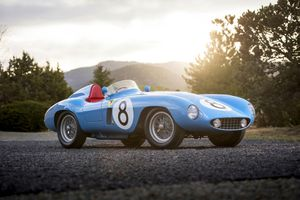 Ferrari 500 Mondial to be auctioned in Monterey