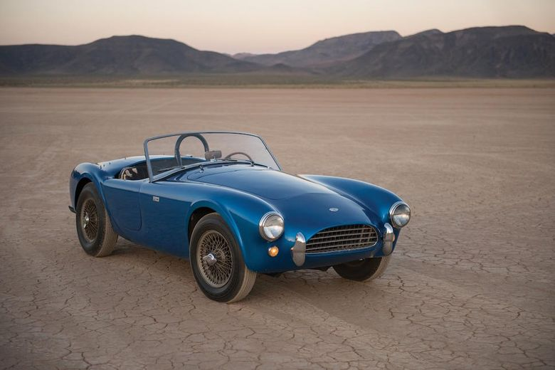 First Shelby Cobra 'CSX 2000' to be sold by RM Sotheby's