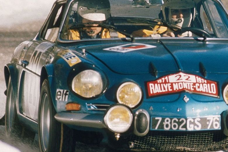 Footage of Alpine A110 Winning 1973 World Rally Championship