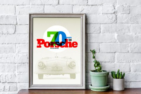 Frame Seven Decades Of Sports Car Supremacy With The Humble Porsche 356-001